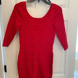 Kardashian Kollection Dresses - Red fitted dress
